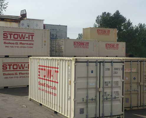 Storage Container Rentals Parberry Bellingham WA