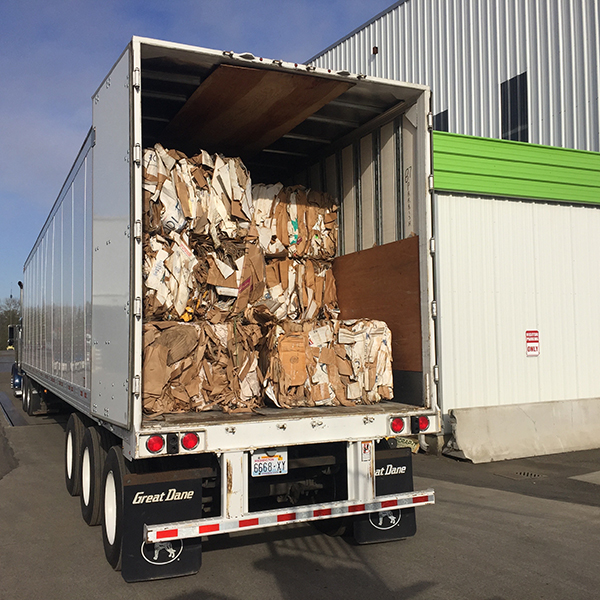 Cardboard Recycling | Bellingham