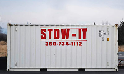 Storage Container Rentals | Stow-it | Parberry Environment Solutions | Bellingham
